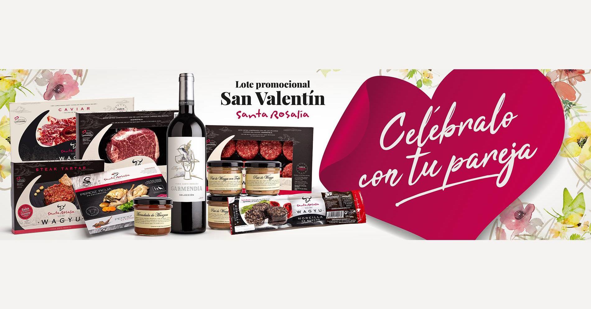 Productos burgaleses San Valentin Burgos