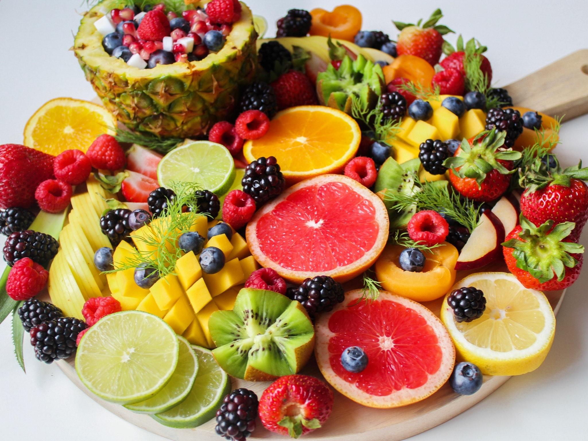 berries citrus citrus fruits