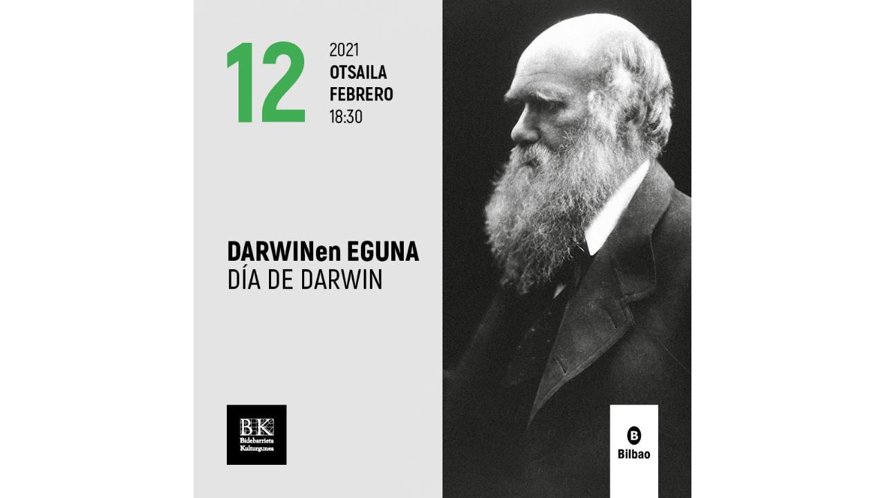Así se celebrará el Día de Darwin en Bilbao