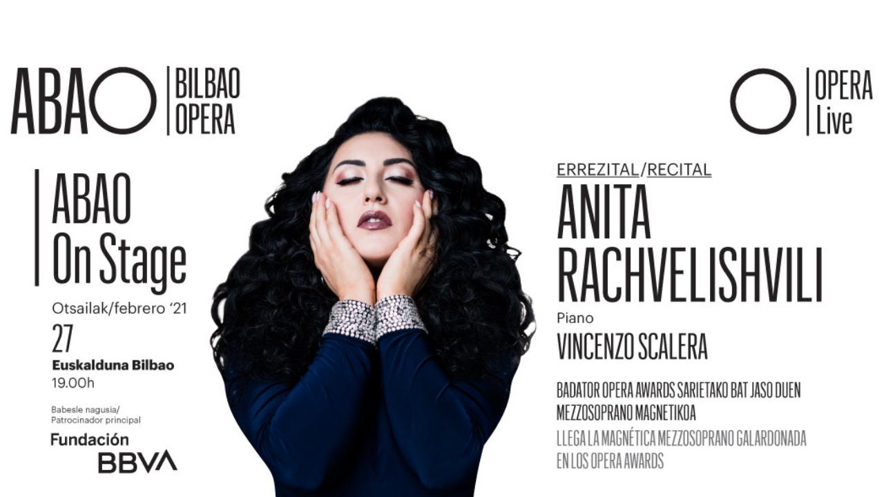 Anita Rachvelishvili, Pedro Halffer, Carlos Álvarez y Rocío Ignacio, los nuevos protagonistas de ABAO on Stage