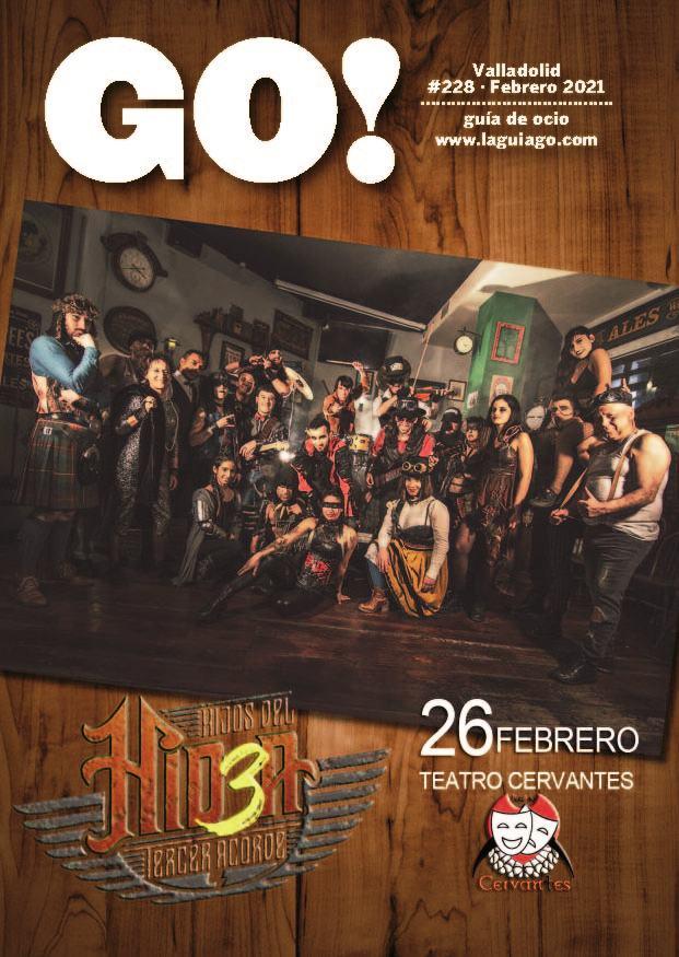 Ya puedes leer el nuevo número de la Revista Go Valladolid Febrero 2021