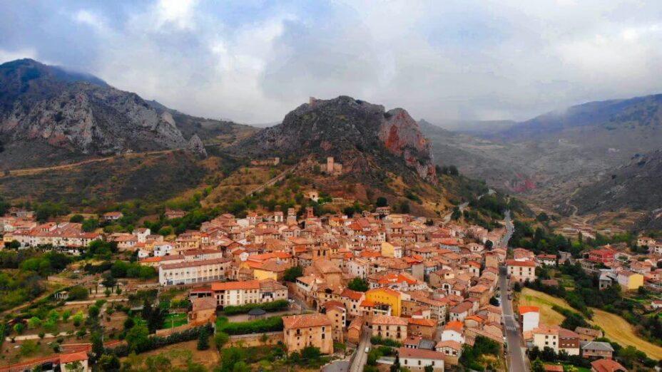 Pueblos de Burgos: poza de la sal