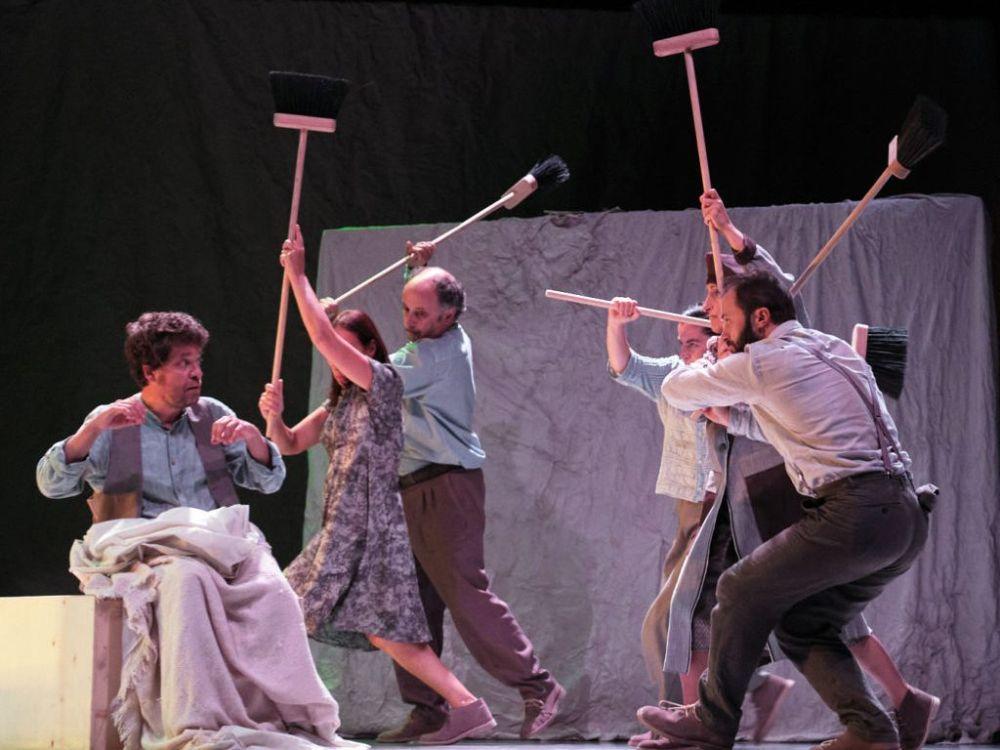 A Lingua das Bolboretas, obra de teatro en Narón