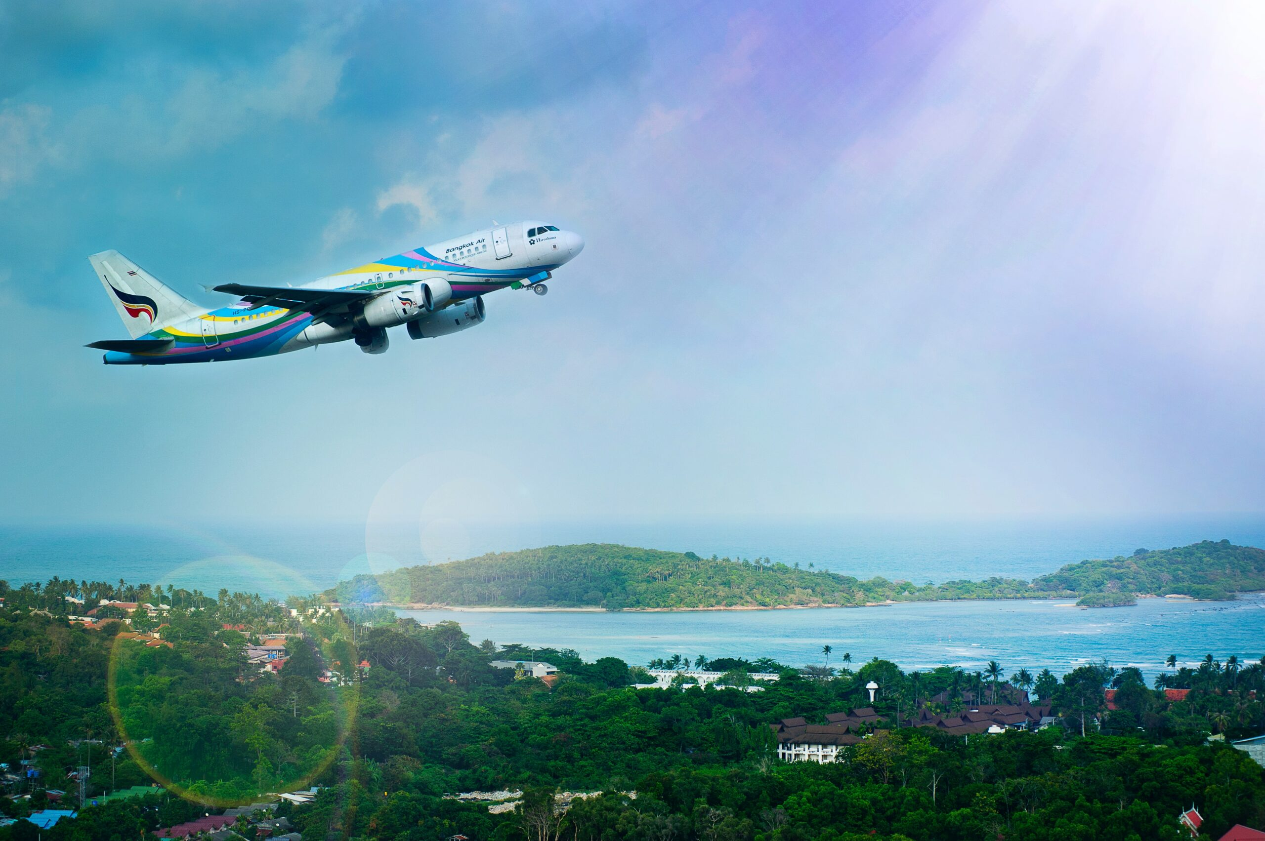 Avion de turismo despegando pexels alexandr podvalny 1004584