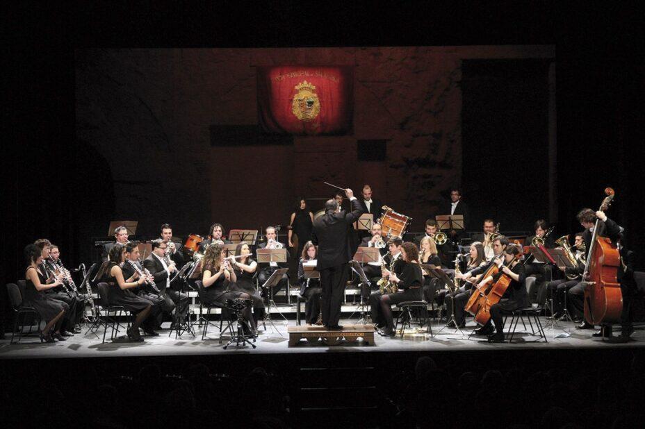 Concierto de La Banda Municipal de Música en Salamanca