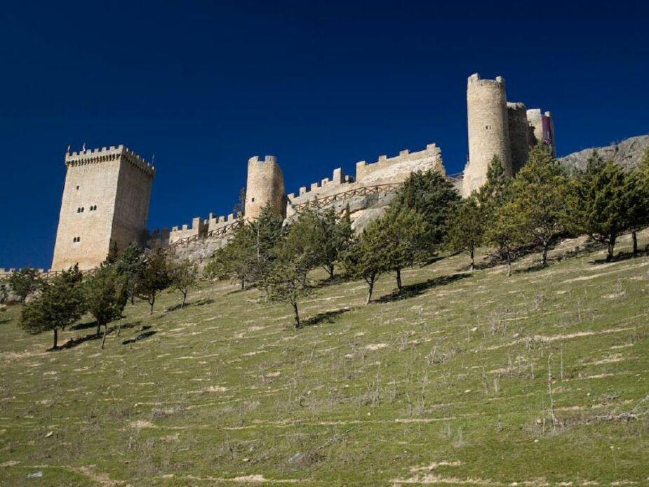 Imagen del Castillo Penaranda de Duero en la provincia de Burgos