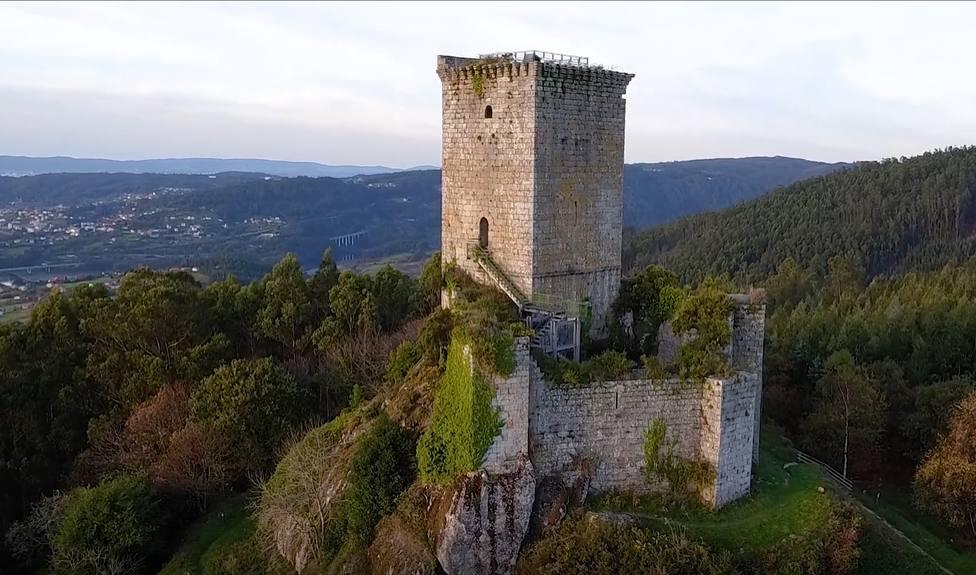 Castillo de Andrade Pontecesures Castillos Coruña