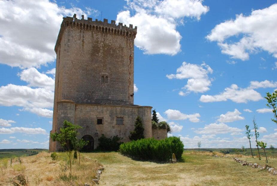 Imagen del Castillo de Arenillas de Muño en la provincia de Burgos