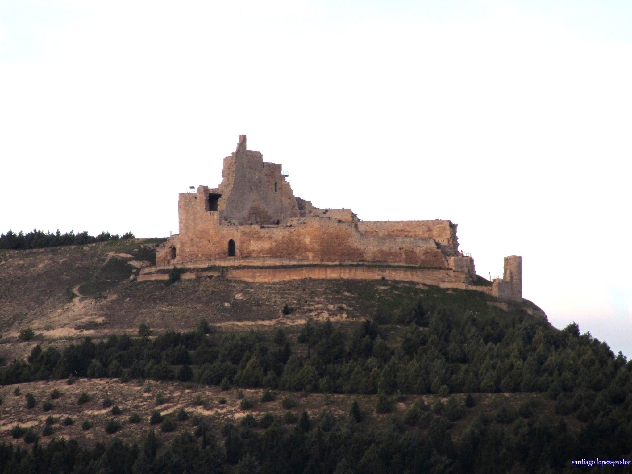 Imagen del Castillo de Castrojeriz en la provincia de Burgos