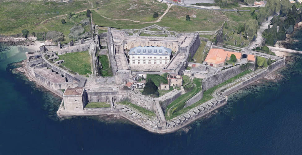 Castillo de San Felipe Ferrol Castillos Coruña