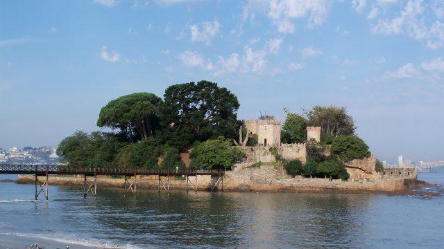 Castillo de Santa Cruz Oleiros Castillos Coruña