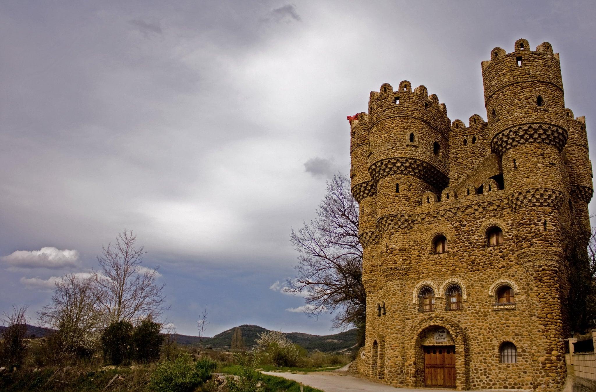 Imagen del Castillo de Las Cuevas en Burgos