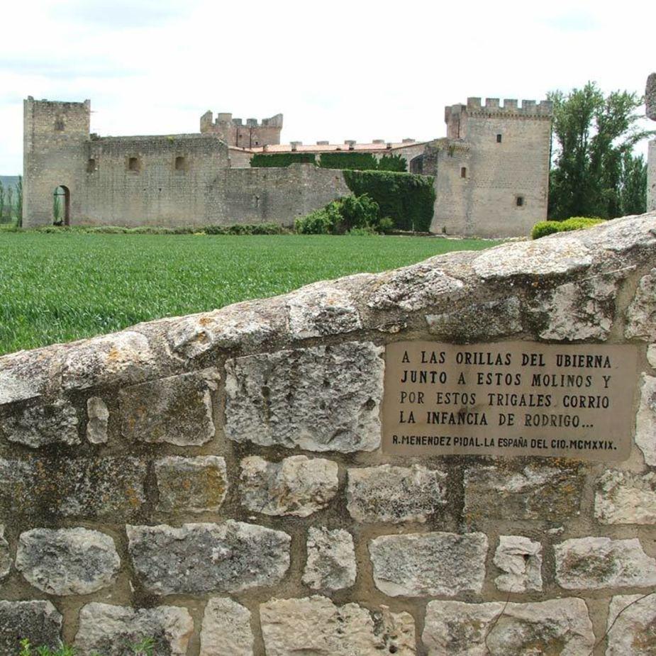 Imagen del Castillo del Cid en la provincia de Burgos