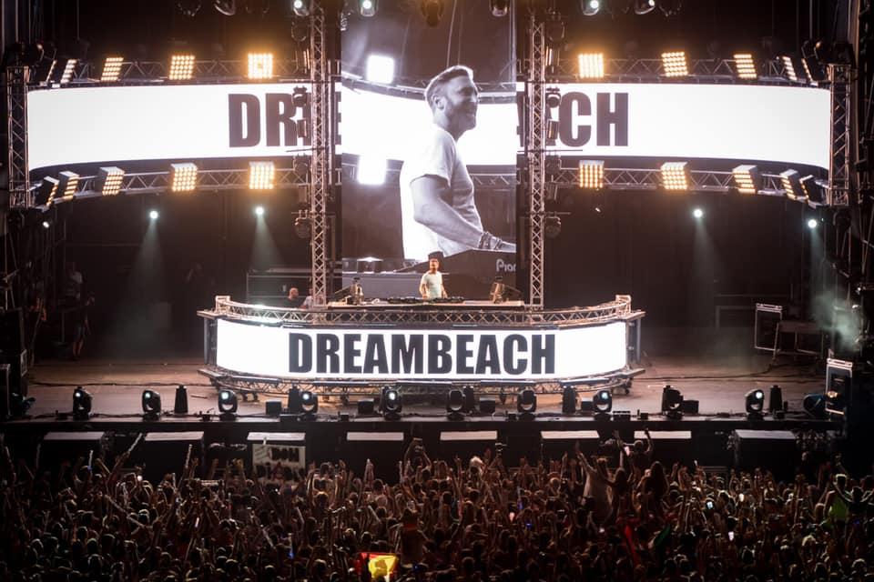 David Guetta en el mainstage del Dreambeach Villaricos