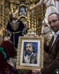 EXPOSICIÓN SOBRE EL ARTE SACRO EN LOS CUADROS BORDADOS HIPERREALISTAS EN CÓRDOBA.
