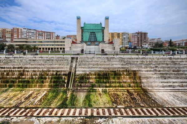 Foto Video Mapping Palacio