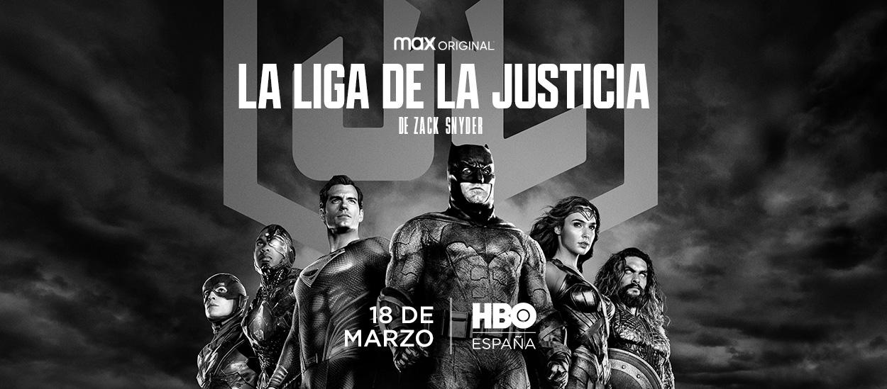 La liga de la justicia de Zack Snyder HBO Max