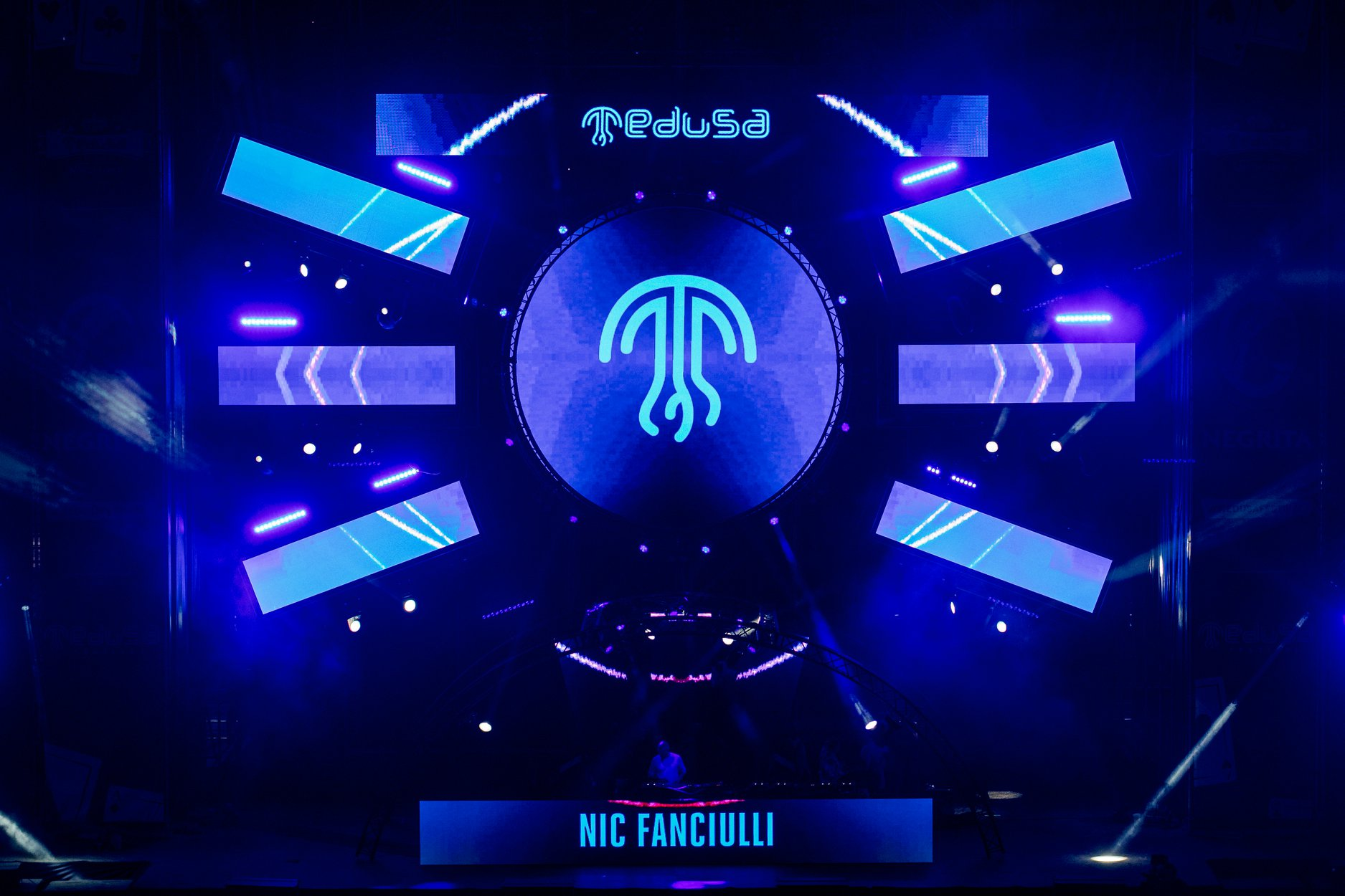 Medusa Sunbeach Festival escenario Ressonance Nic Fanciulli