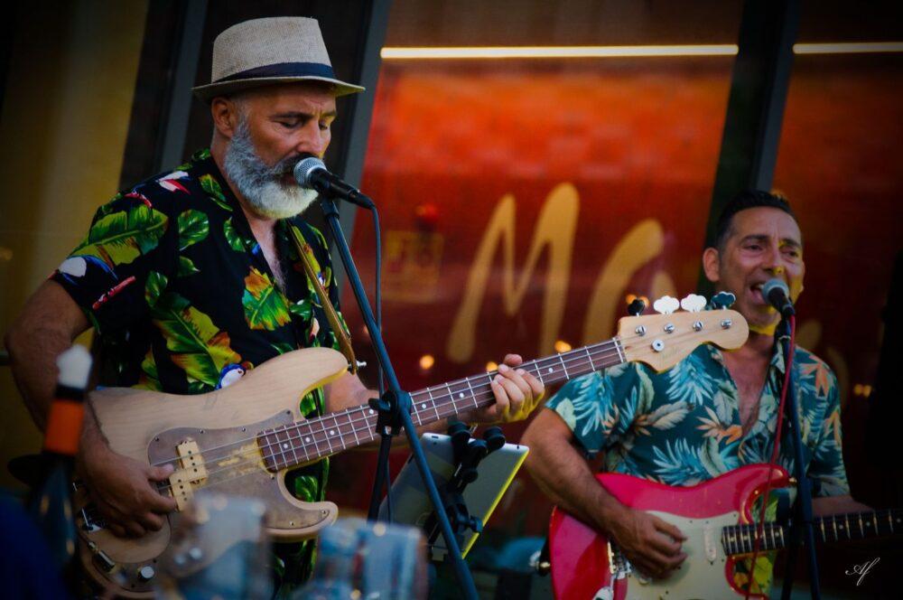 Pacheco Bros concierto en el restaurante Mollo de Nigrán
