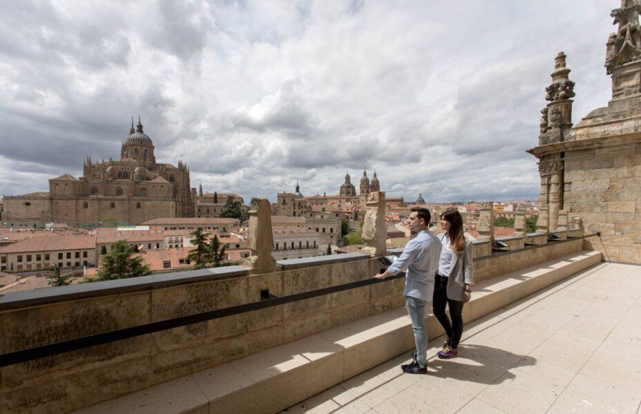 Salamanca en altura. TerrazaConvetoSanEsteban