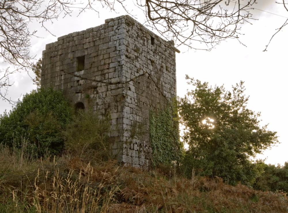 Torre de Guimarei Castillos Pontevedra