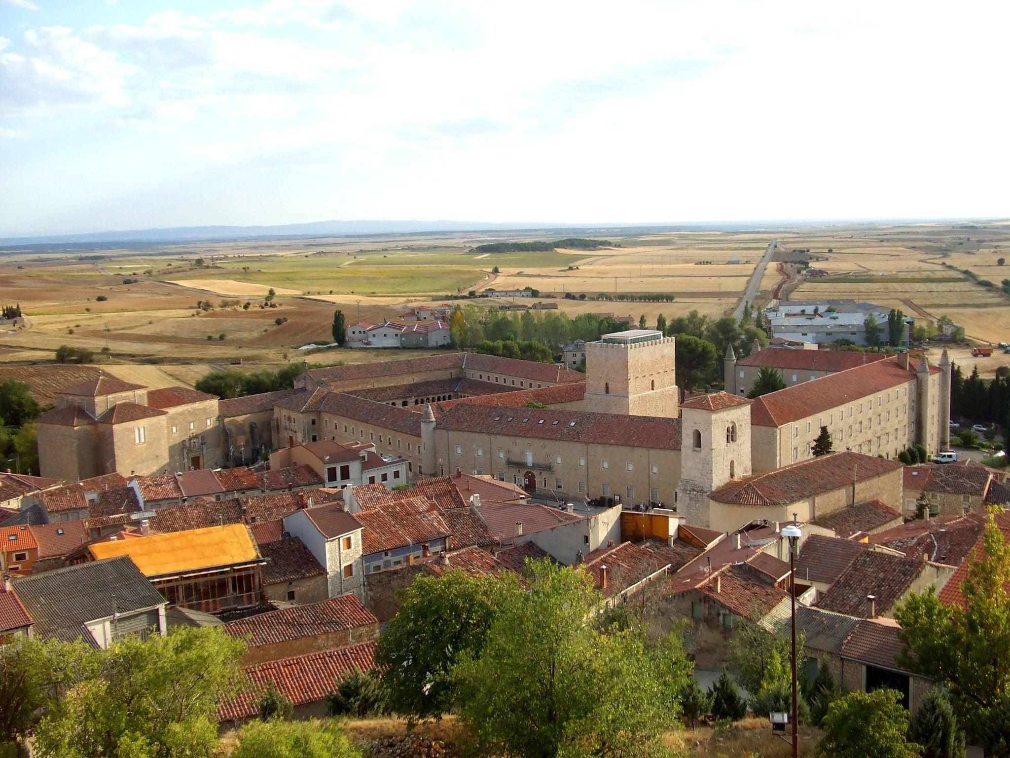 Imagen del Torreon de Los Guzmanes en la provincia de Burgos
