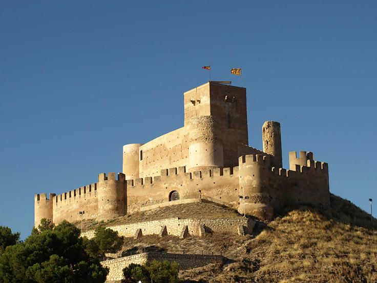 Ruta castillos Alicante Castillo de Biar Laguiago