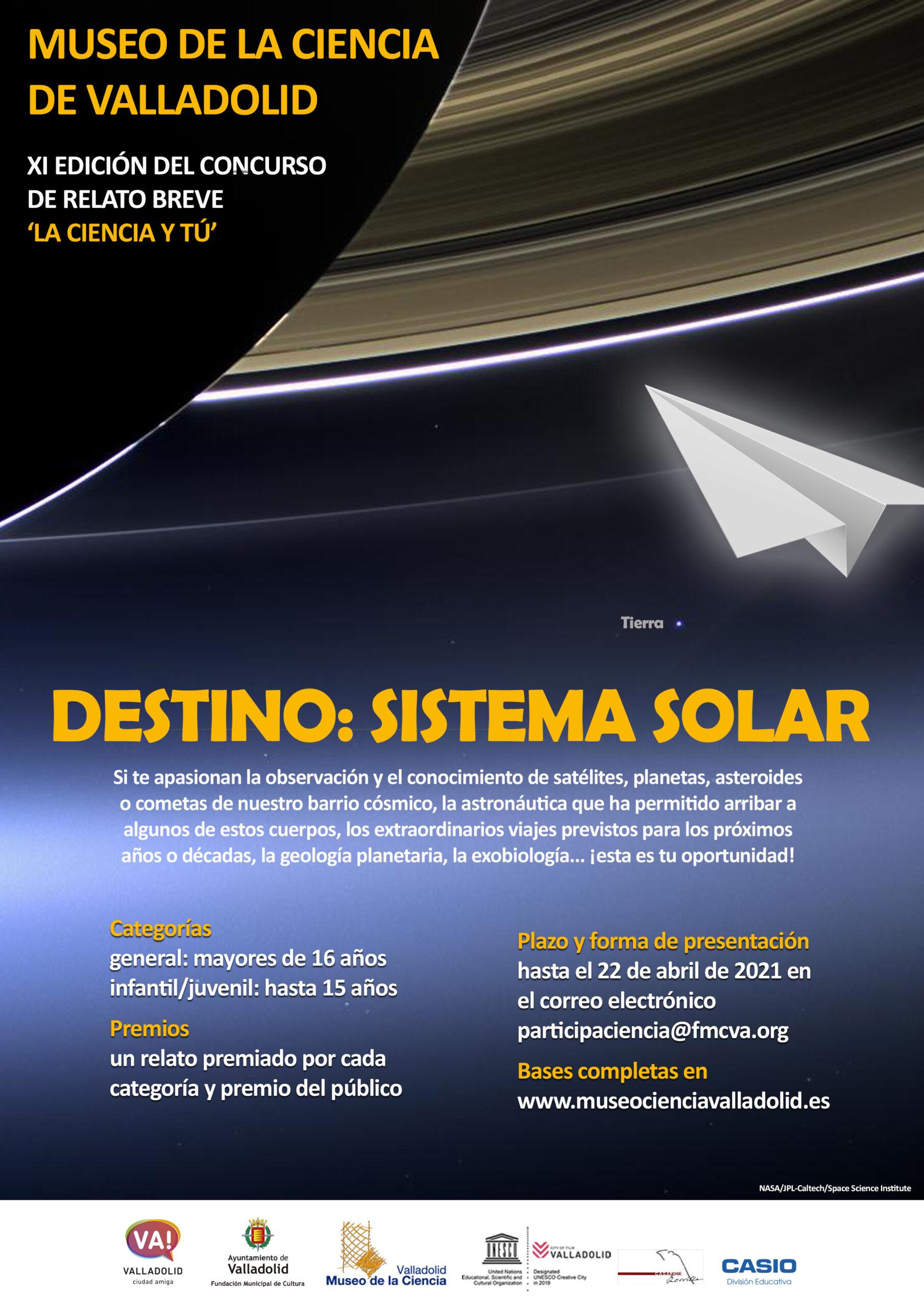 destino sistema solar
