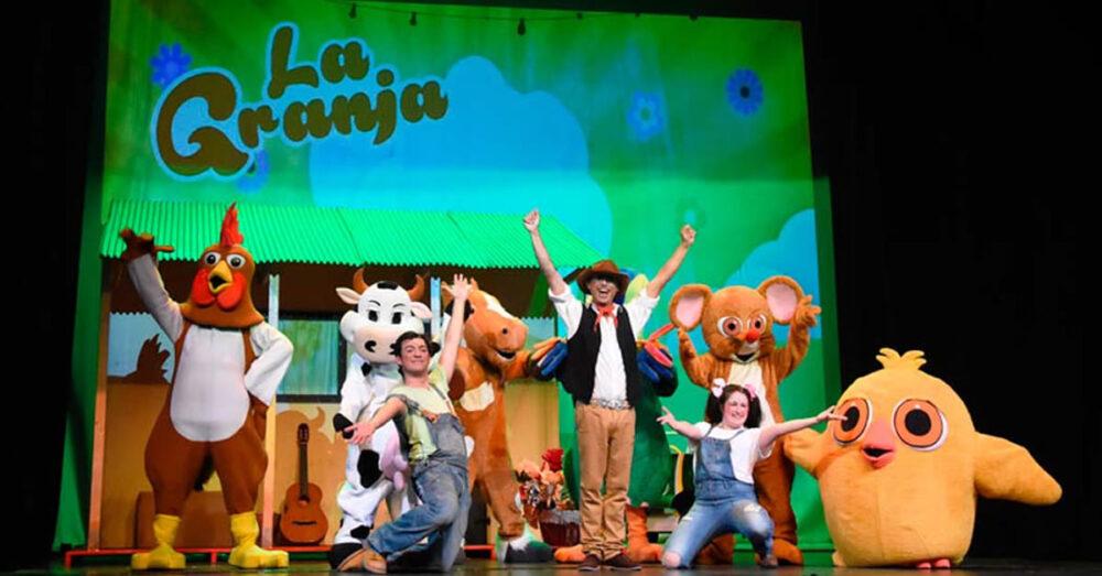 La Granja, musical familiar en el auditorio municipal de Vigo