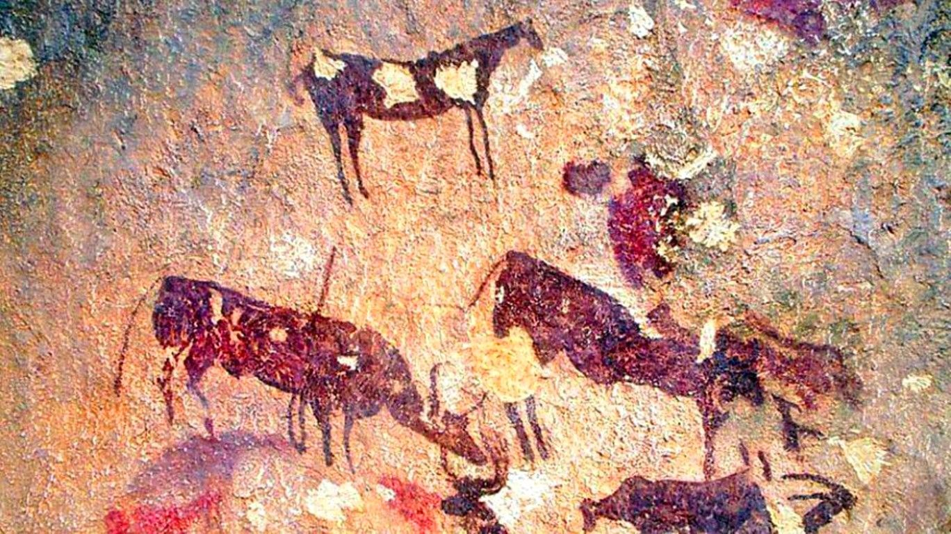 pintura monte arabi