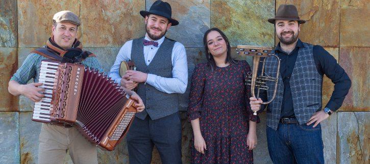 Ailá, concierto folk en el auditorio de Cangas