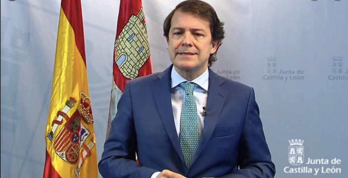 Alfonso Fernandez Mañueco quita el toque te queda en Burgos