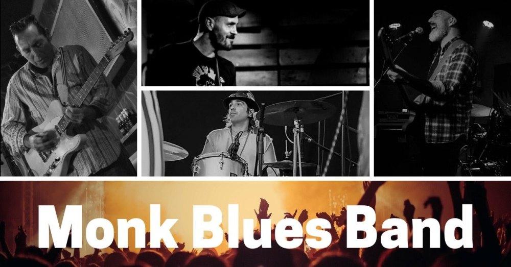 Monk blues band concierto en el restaurante Mollo de Nigrán