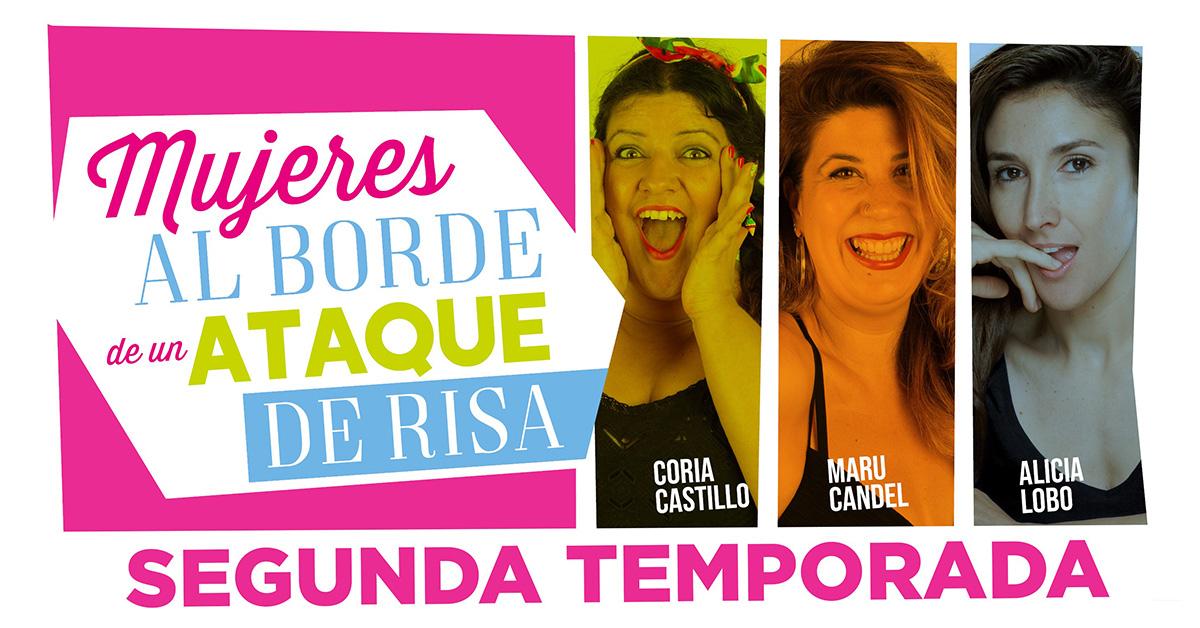 Teatro: Mujeres al borde de un ataque de risa en Teatro Príncipe Gran Vía en Madrid
