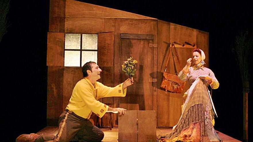 O Ogrocho teatro Cangas