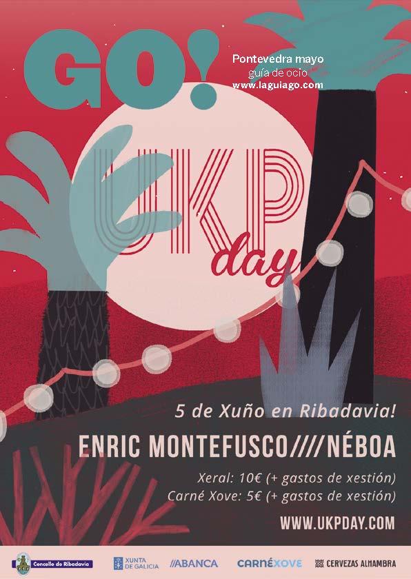 Revista Go Pontevedra mayo; Disfruta el ocio de Pontevedra
