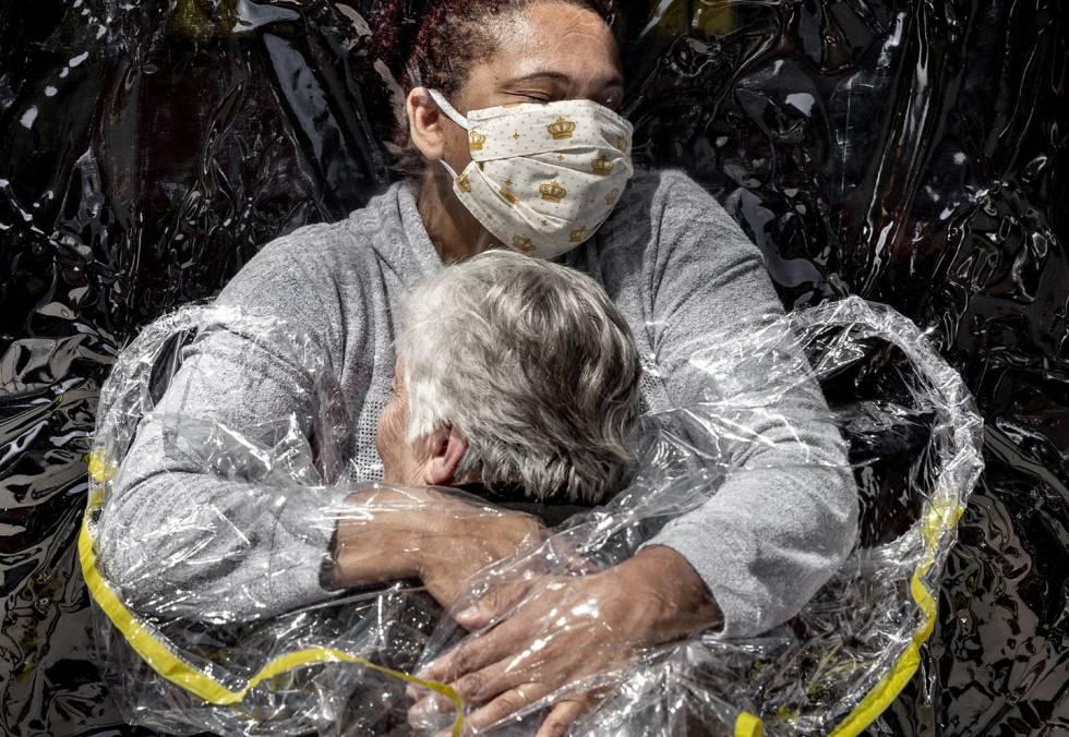 'El primer abrazo', ganadora del World Press Photo del Año