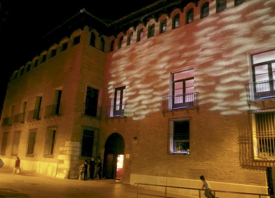 Palacios de Zaragoza. Los Torrero. colegio de arquitectos