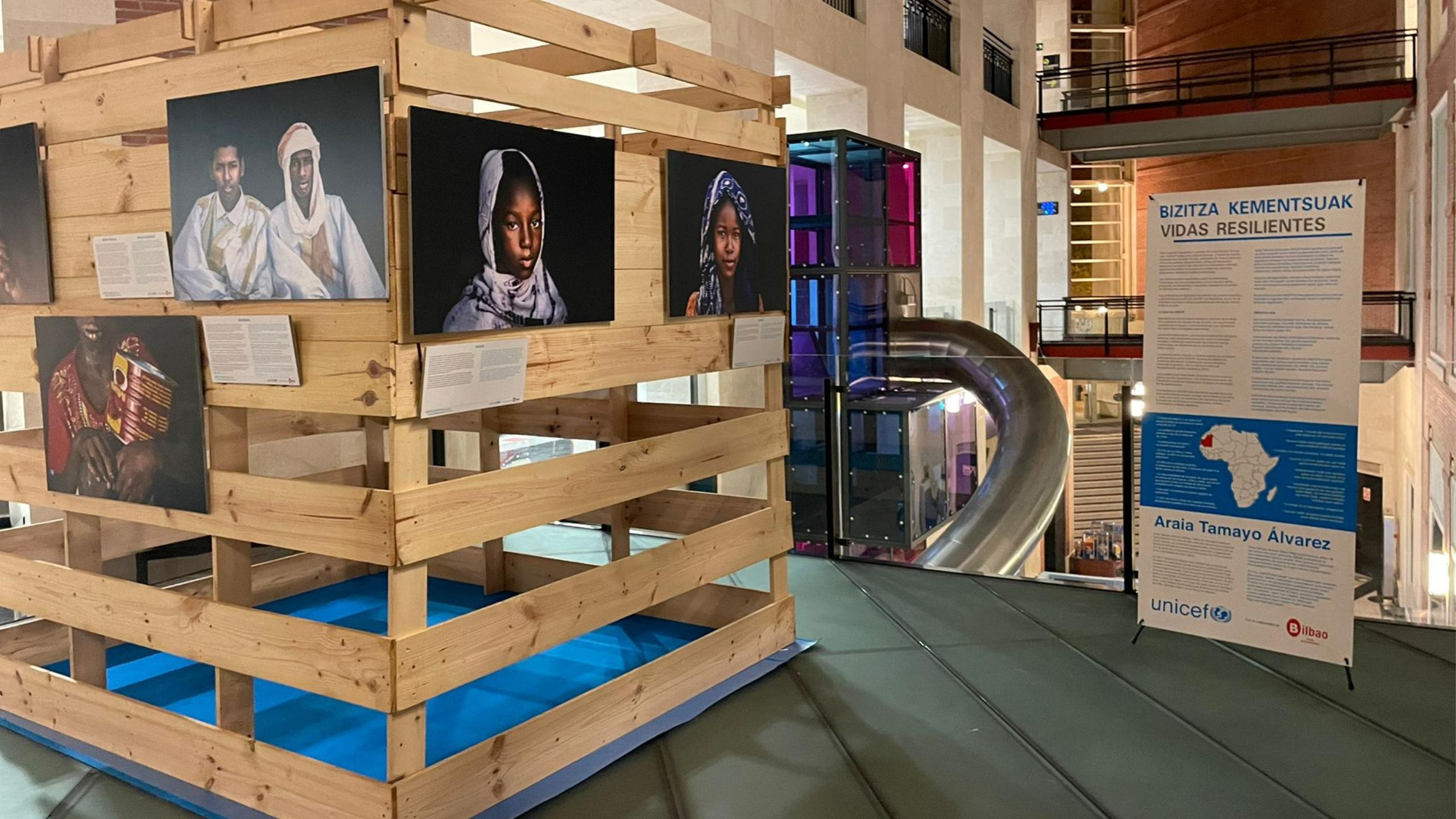 La exposición «Vidas resilientes» muestra la capacidad de superación de niños de Mauritania