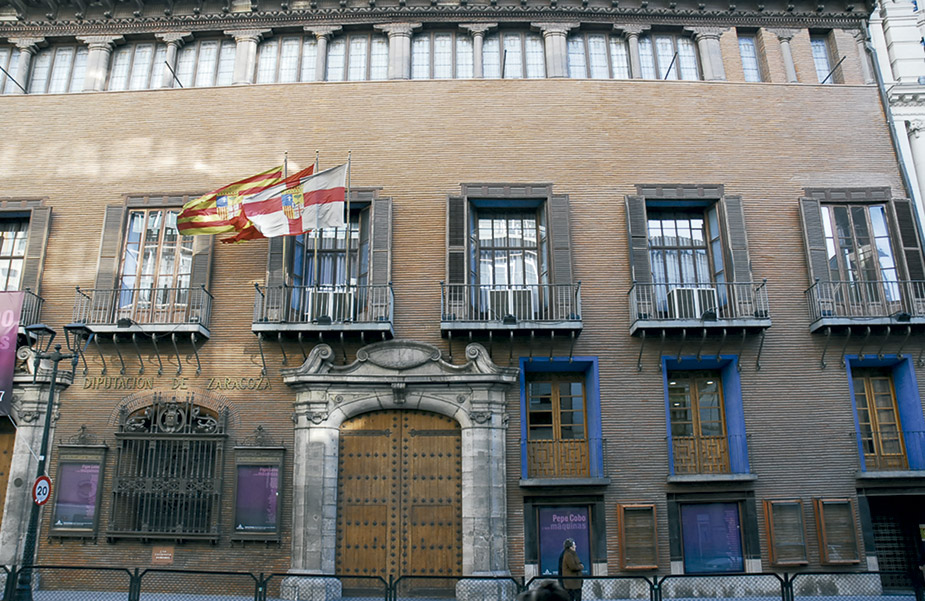 palacios de Zaragoza. Palacio de sastago