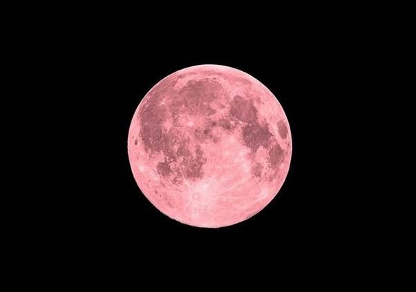 ya esta aqui la super luna rosa
