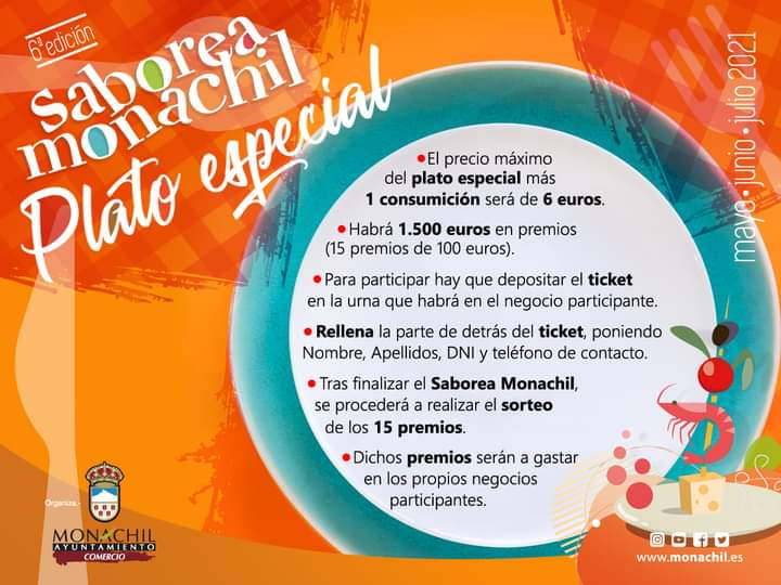 Saborea Monachil fomenta la gastronomía local con 1500 euros en premios cartel