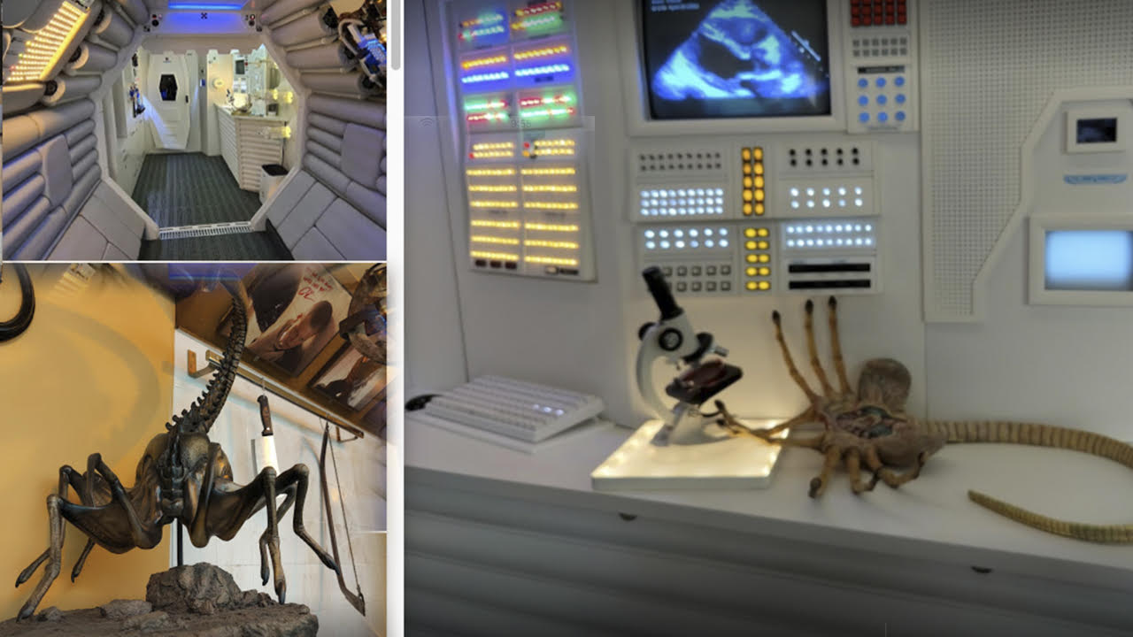 Alien Film Museum de Barcelona
