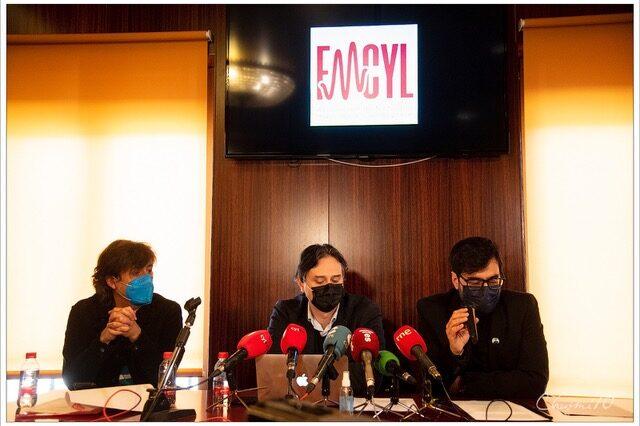 La FMCYL en una rueda de prensa para hablar sobre la situación de los festivales en Castilla y León
