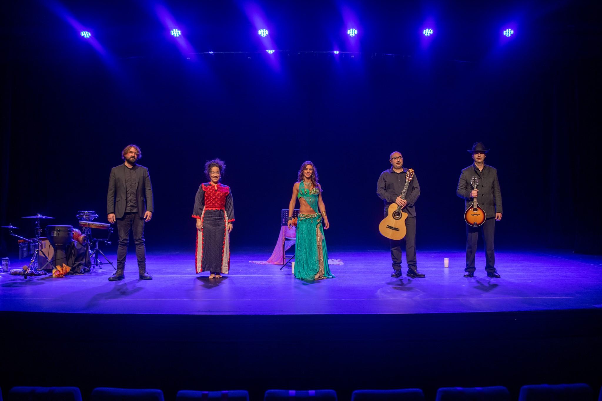 Abanai en el Cultural Cordon de Burgos
