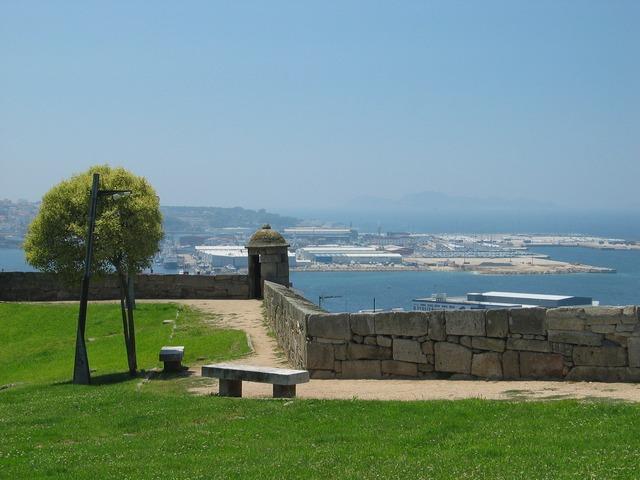 Castillo de San Sebastian patrimonio histórico Vigo
