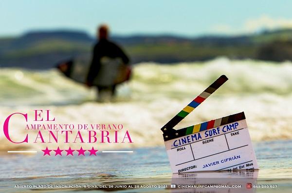 Cinema Surf Camp 2021 cartel