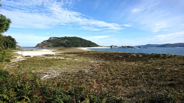 Complexo dunar Rodas senderismo Islas Cíes