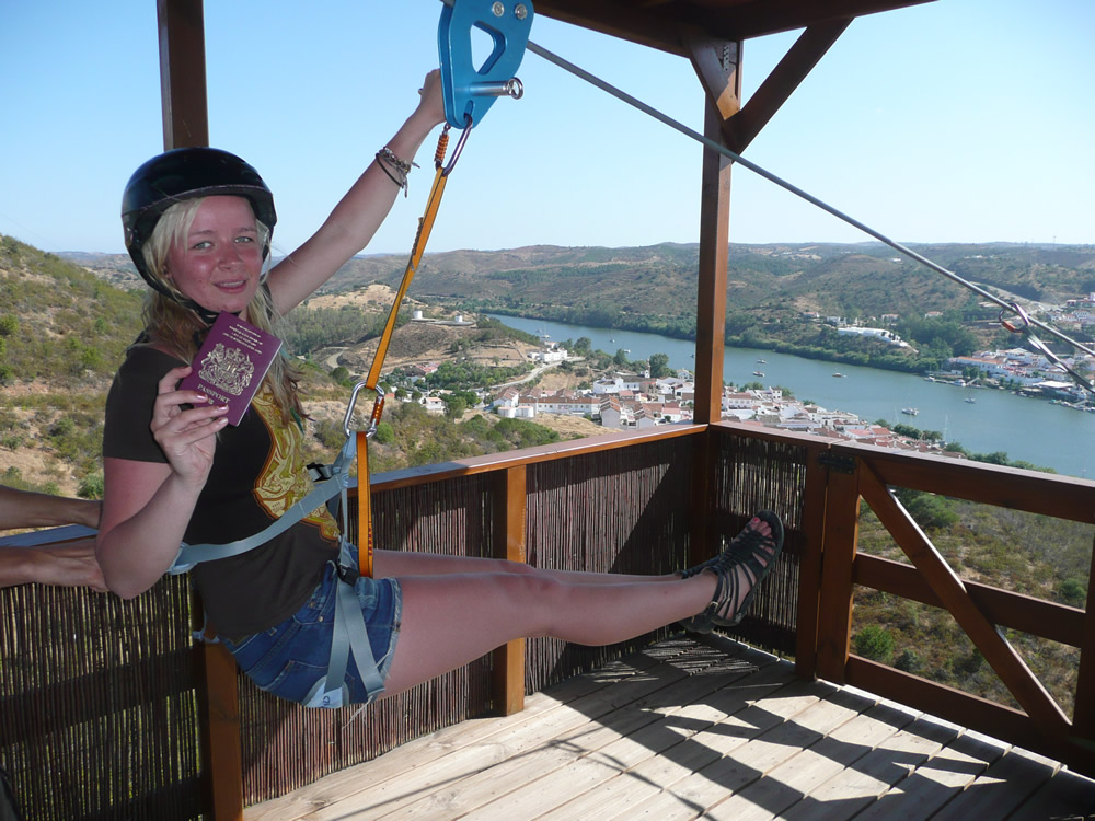 Cruzar el rio Guadiana un viaje en el tiempo