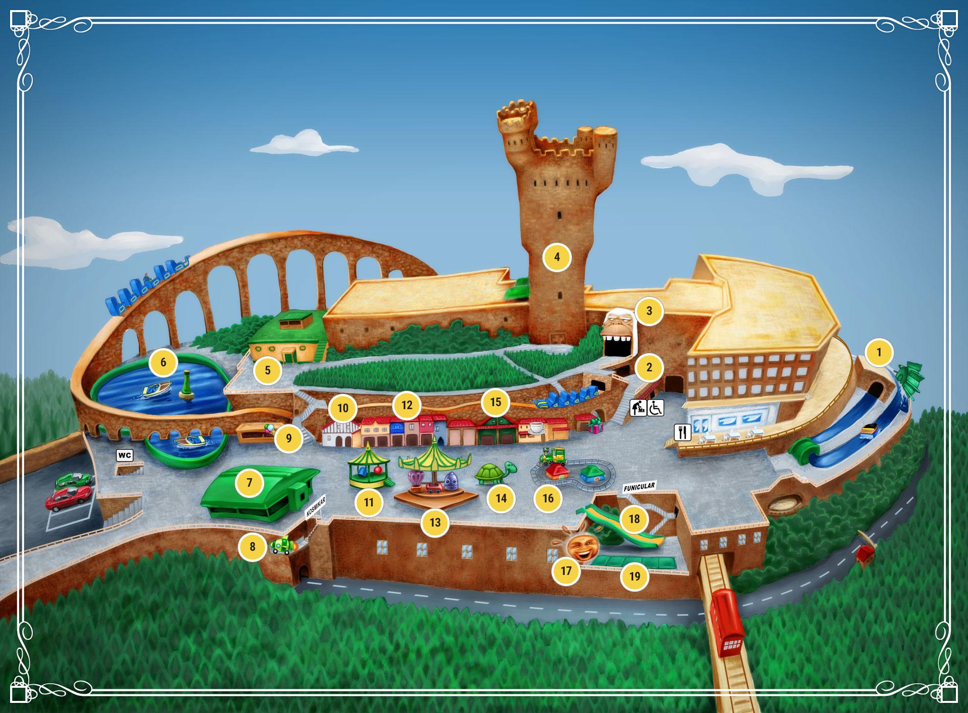 El Parque de Atracciones Monte Igueldo 1